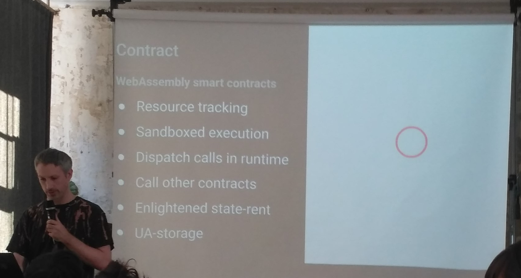 Contract slide